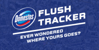 domestos-flush-tracker