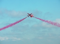 Red Arrows at Wales Air Show 2011