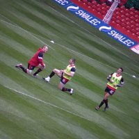 Wales Training Session at Millennium Stadium