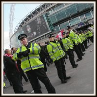 Police at Wembley