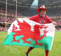 Jamie Roberts Six Nations in a hat