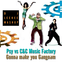 Psy vs C& C Front Cover