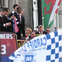 Cardiff City Promotion Parade Video