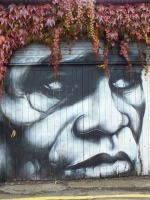 James Brown graffiti